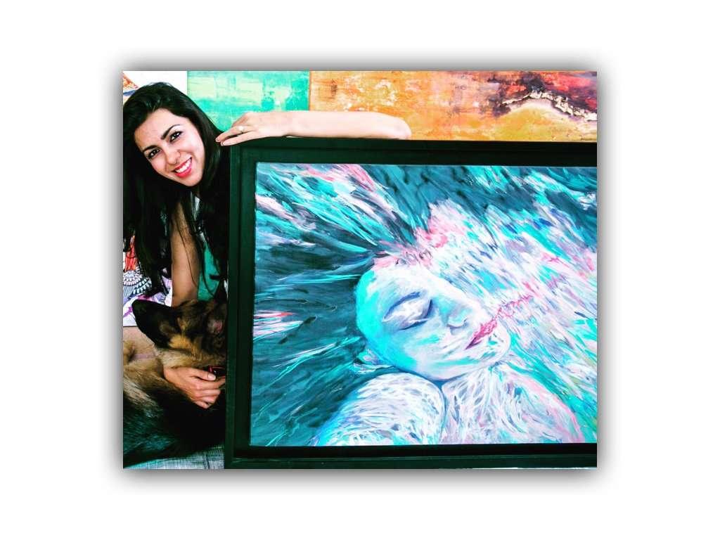 bahar_dhawan_rohtagi_dog_painting_woman_colorful.001
