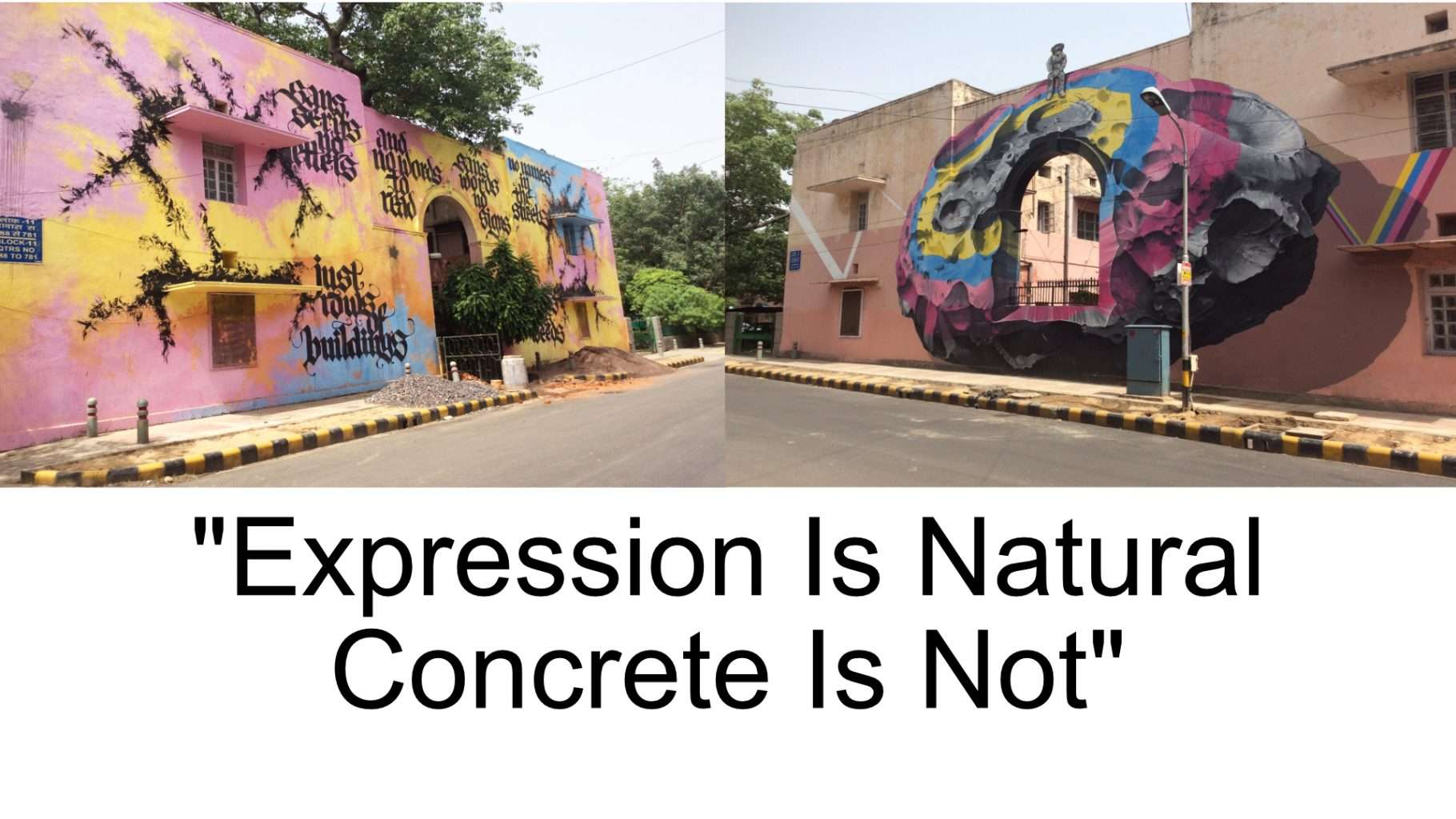 Quote Street Art
