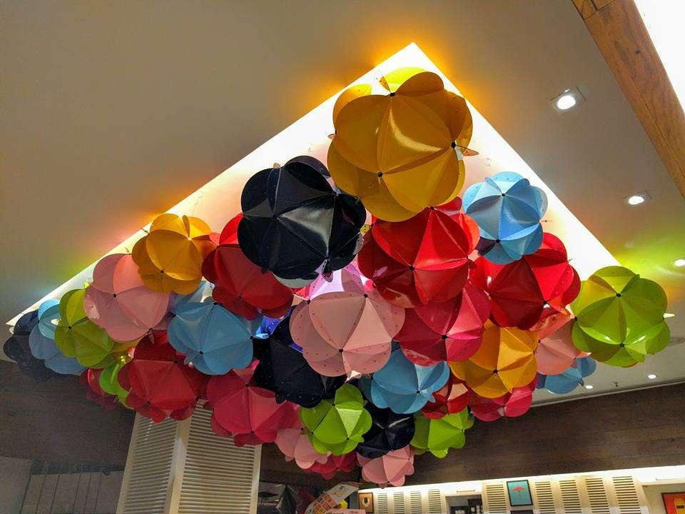 Orb Clouds Installation at Yum Yum Cha, Select City Walk, Saket