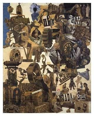 Collage (1919) von Hannah Höch [1889 - 1978]Bildmaß 114 x 90 cmInventar-Nr.: NG 57/61Systematik: Geschichte / Deutschland / 20. Jh. / Weimarer Republik / Kulturleben / Kunst und Literatur