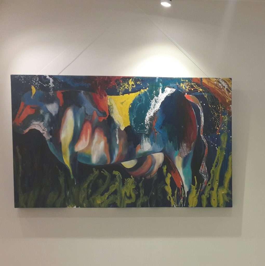 painting Maria Galea's 1