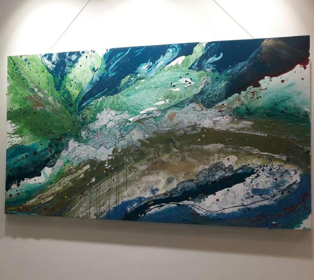 painting Maria Galea's 2